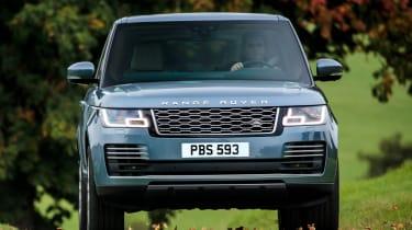 Range Rover action