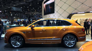 Bentley Bentayga Speed - Geneva - side view