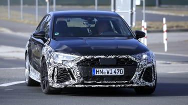 2021 Audi RS3 saloon prototype - front