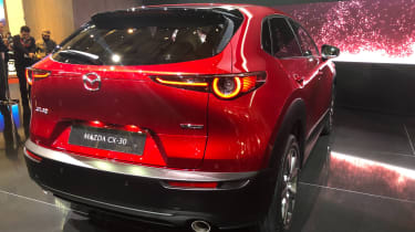 Mazda CX-30 SUV - Geneva - rear close