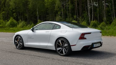 2019 Polestar 1 prototype - rear 3/4 static