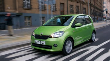 The Skoda Citigo is mechanically-identical to the VW up! and SEAT Mii, but a low price tag coupled with good customer satisfa