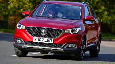 The MG ZS SUV is a new challenger in the packed crossover class