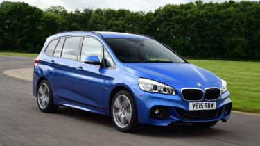 BMW 2 Series Gran Tourer - front 3/4 view