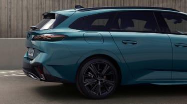 2021 Peugeot 308 SW estate - rear quarter