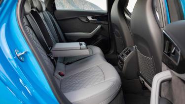 Audi S4 saloon rear seats