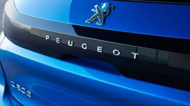 Peugeot e-208 boot