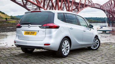 It's not the most glamorous car on sale, but the Zafira Tourer does the job of transporting people and luggage well