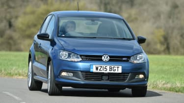 The VW Polo is the sister car to the Fabia, but is more expensive - and more desirable