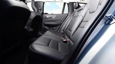 Volvo V60 estate back seats