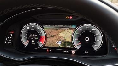 Audi SQ7 SUV Virtual Cockpit