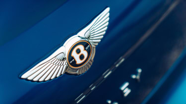 Bentley Continental Flying Spur saloon badge