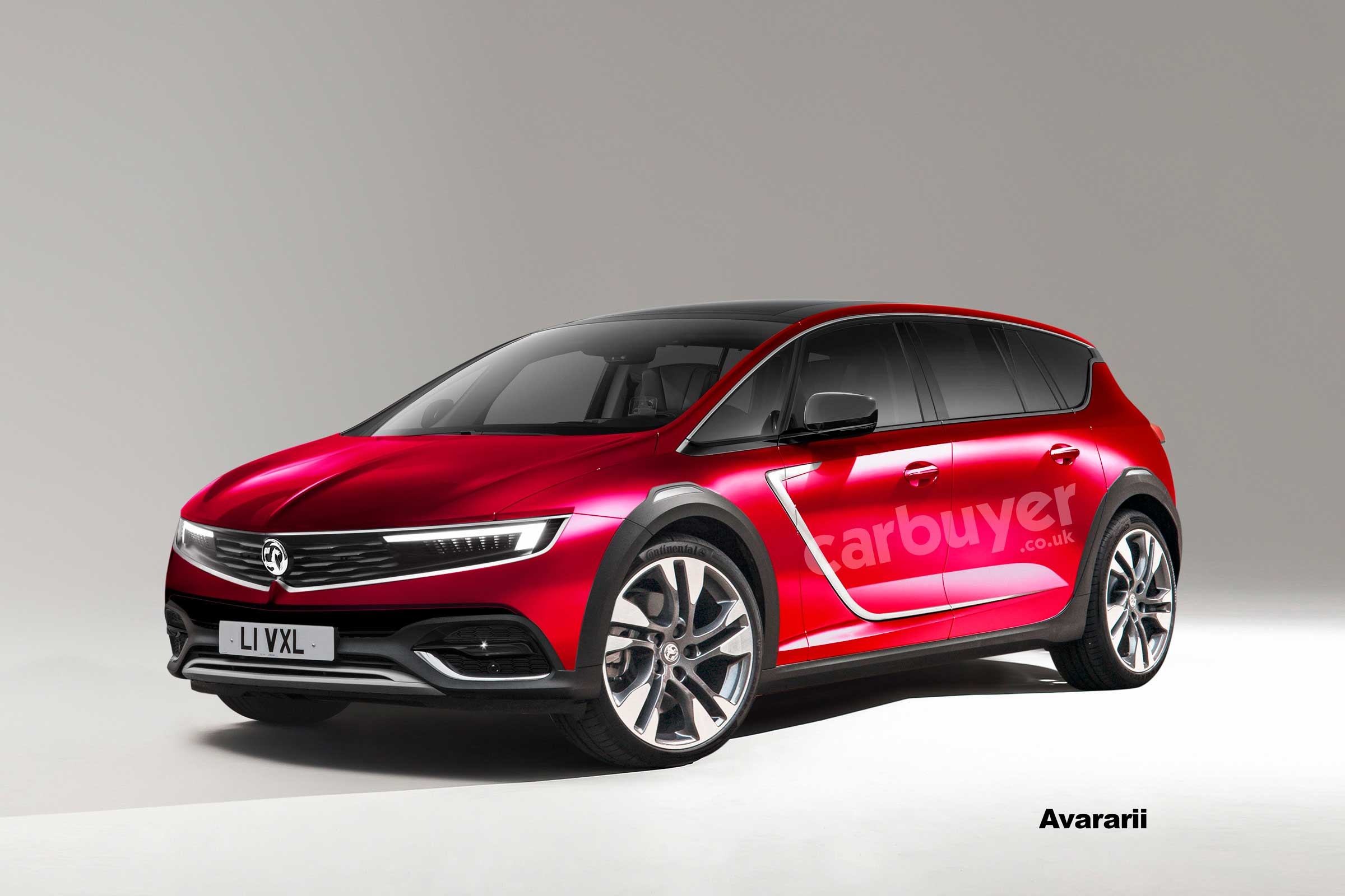4 Vauxhall Insignia to get new crossover styling  Carbuyer