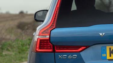 Volvo XC60 SUV rear lights