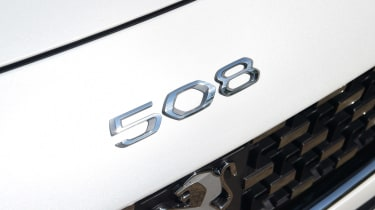 Peugeot 508 SW estate rear badge