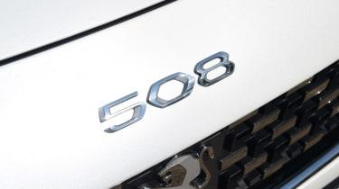 Peugeot 508 SW estate rear badge