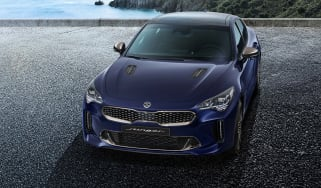 Kia Stinger facelift (not UK specification)