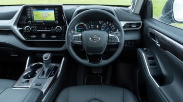 Toyota Highlander SUV interior