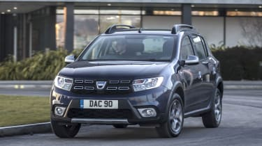 The Dacia Sandero Stepway adds extra ground clearance, restyled bumpers and roof rails to the supermini