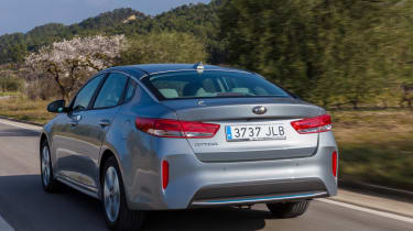 CO2 emissions are also very low, placing the Optima PHEV in the lowest BiK band for business users
