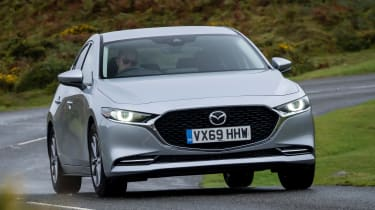 Mazda3 Fastback saloon front action