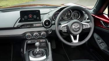 Mazda MX-5 Roadster interior