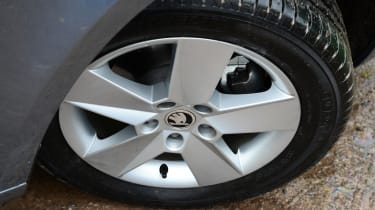 With sensibly sized wheels and tyres, the ride is very comfortable