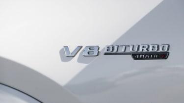 Mercedes-AMG GLS 63 V8 badge