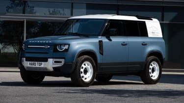 2020 Land Rover Defender 110 Hard Top - front 3/4 static