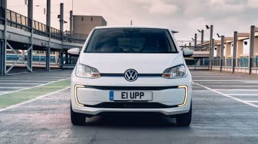 Volkswagen e-up front end