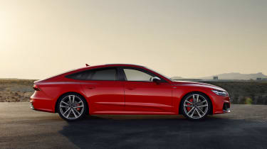 Audi A7 plug-in hybrid side view
