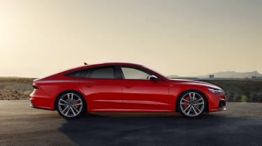 Audi A7 plug-in hybrid side view