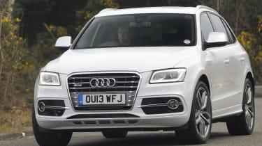 Audi SQ5 front
