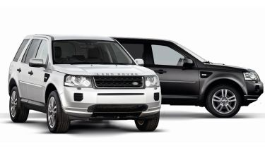 Land Rover Freelander 2 Black and White Edition 2013