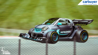 Mercedes-AMG F1 Smart ForTwo