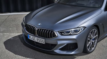 BMW 8 Series Gran Coupe - front close up