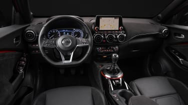 New Nissan Juke interior in black
