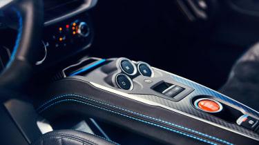 Alpine A110 coupe centre console