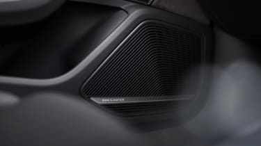 Audi S5 Coupe speaker grille