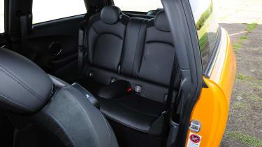 MINI hatchback rear seats