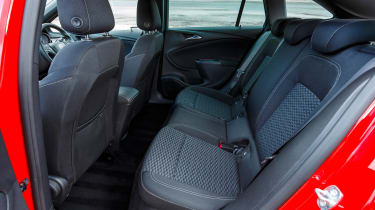 There's plenty of legroom in the rear of the Sports Tourer