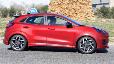 2020 Ford Puma ST - side view turning