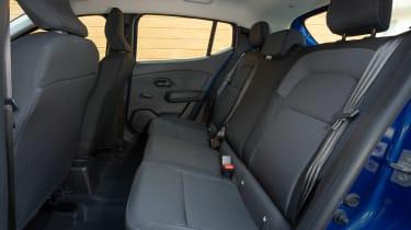 Dacia Sandero - rear seats