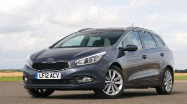 The Kia Cee'd Sportswagon is a practical and affordable estate car based on the Cee'd hatchback