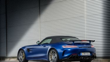Mercedes-AMG GT R Roadster rear static roof up