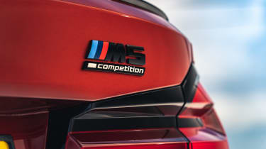 2021 BMW M5 Competition saloon - boot badge