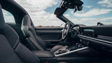 Porsche 911 Targa dashboard