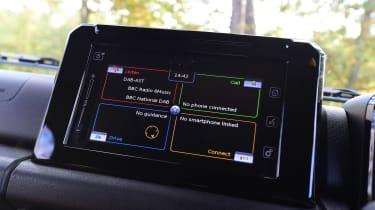 Suzuki Jimny SUV infotainment system