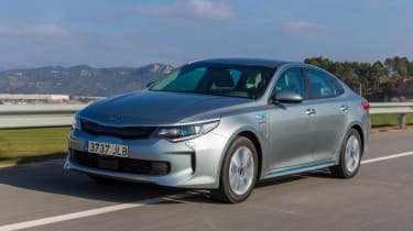 The Kia Optima plug-in hybrid is available as a saloon or Sportswagon estate