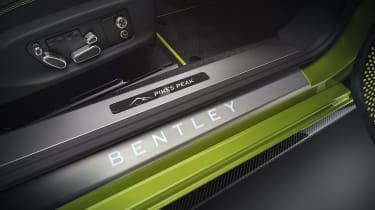 Bentley Continental GT Limited Edition door plate